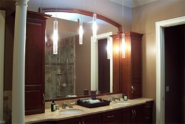 Rochester Custom Kitchens - bathroom remodel